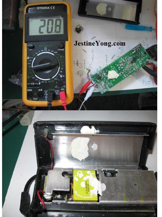repairing power adapter laptop