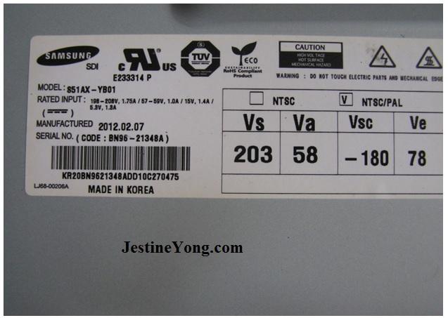 samsung plasma tv standby problems