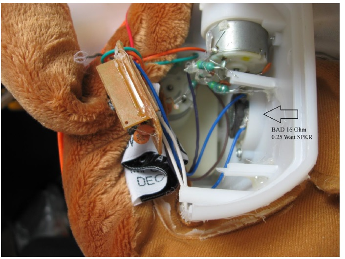 electronic dog toy repair
