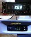 how to repair automotive digital clock