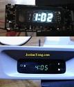 how to repair automotive digital clock