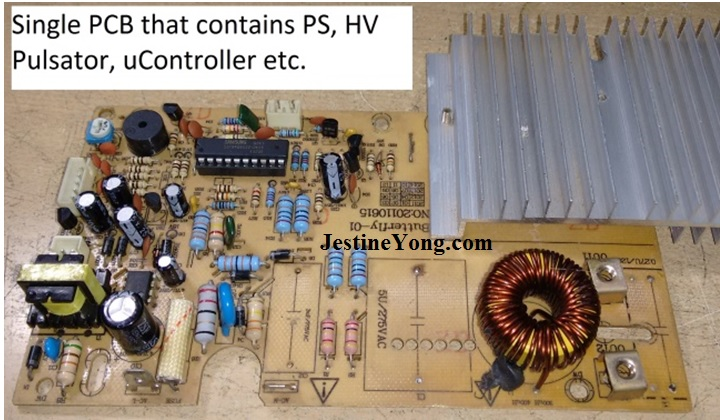 how to repair induction cooker pcb