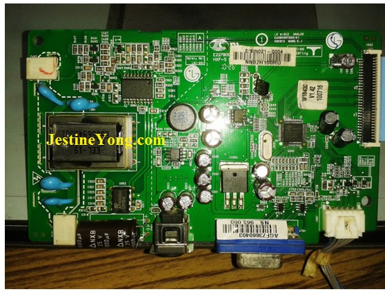 how to repair lcd monitor