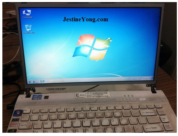how to repair sony vaio laptop