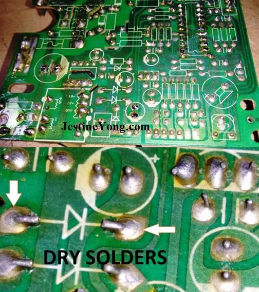 induction cooker repair