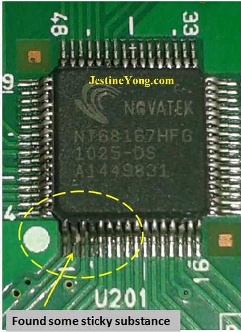 lcd monitor MCU IC