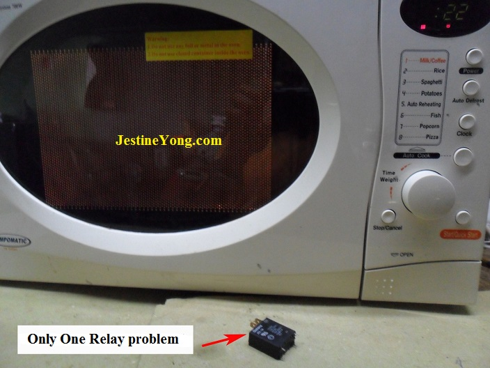 microwave heating problems