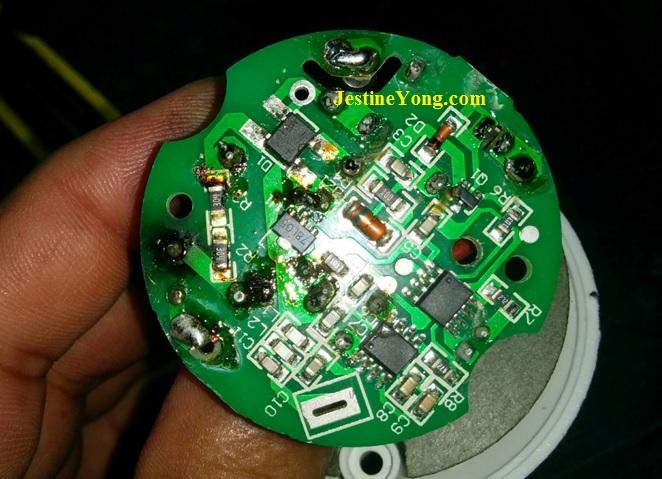 remote control bulb circuit board