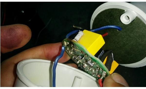 remote control bulb repair