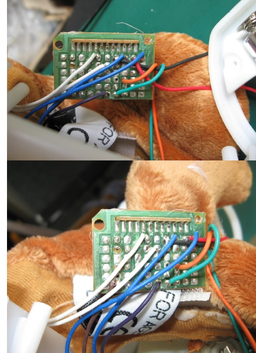 repairing doll
