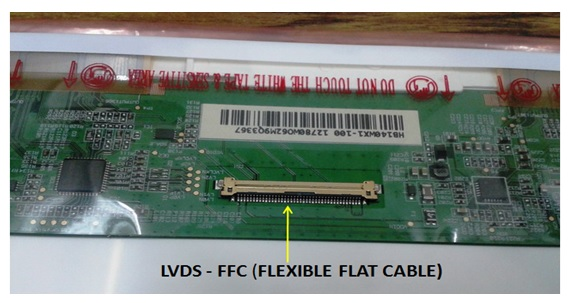 is it possible to attach bigger screen to lvds port? with
