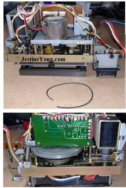 teac a500 repairing