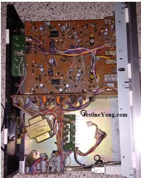 teac a500 stereo cassette deck repair