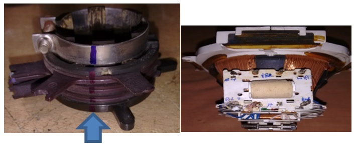 how to repair crt tv yoke coil