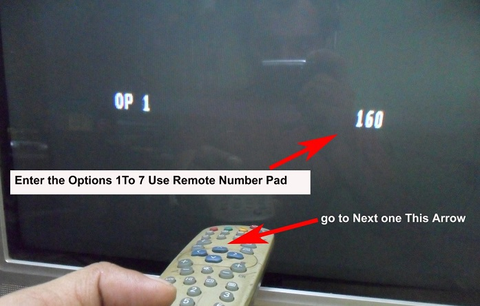 eeprom fault in tv