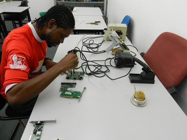 electronics-training and repair