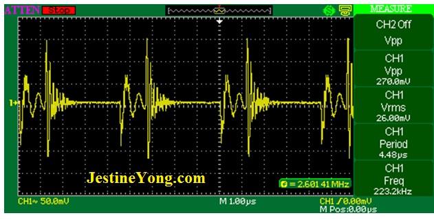 emi-measurement-waveform