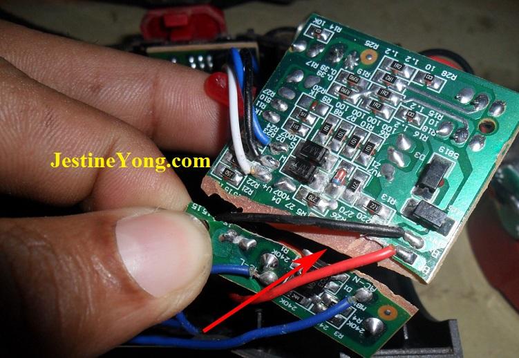 Led Lamp Torch Repairing