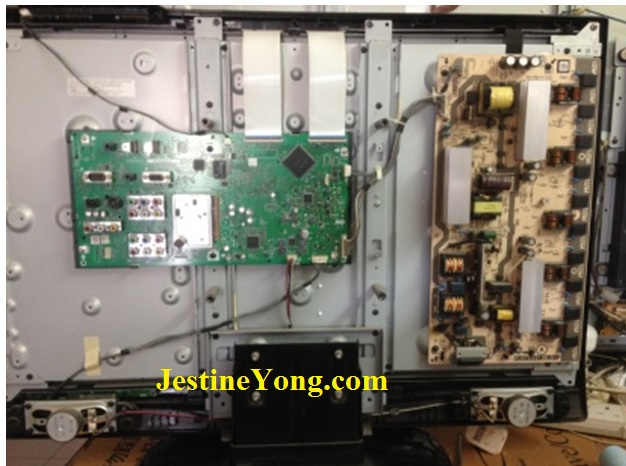 sharp-lcd-tv-no-power-repair