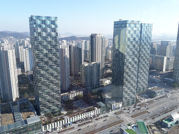 Songdo City South Korea