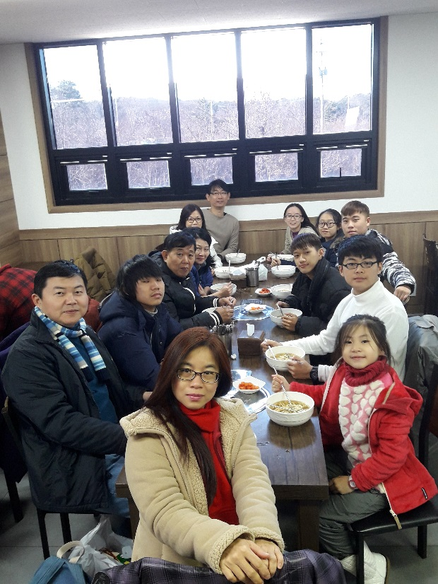 lunch time in South Korea