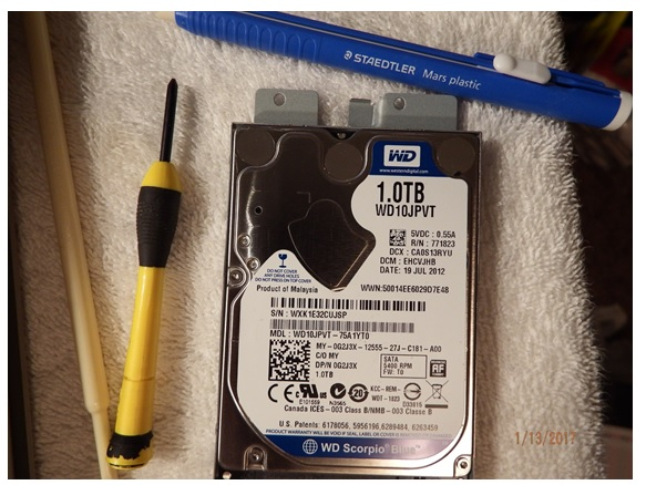 dell laptop harddisk repair