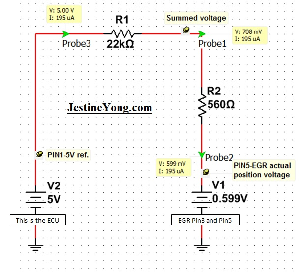 egr system circuit simulator