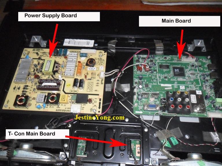 how-to-repair-led-tv