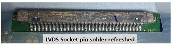 lvds-socket-problem