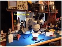 microscope electronic troubleshooting