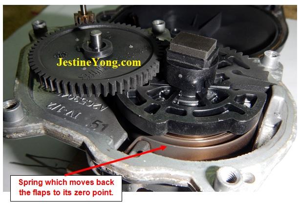 repairing-air-intake-control