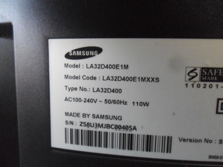 samsung la32d400e1m tv repair