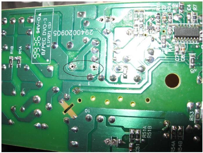 bad p6ke150a transcient diode