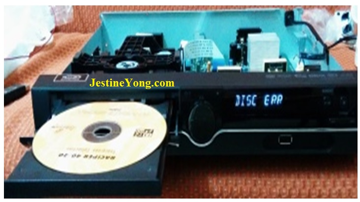 fix lg dvd player