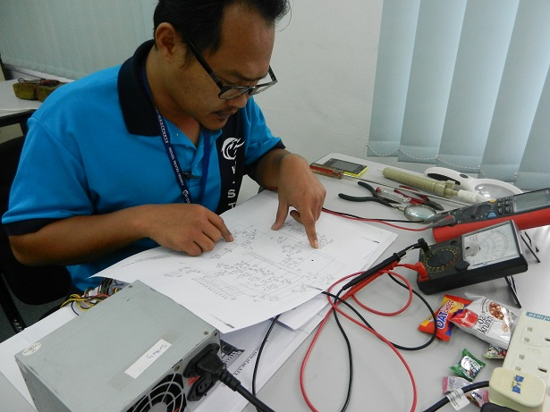 how to read standby circuit diagram