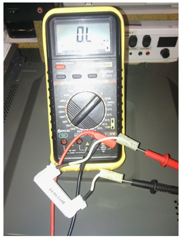 how to test high voltage fuse