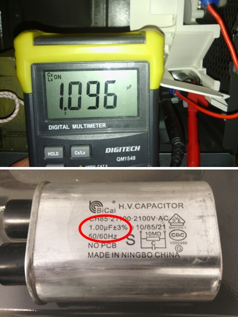 How To Test Microwave Capacitor