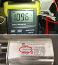 how to test microwave oven capacitor