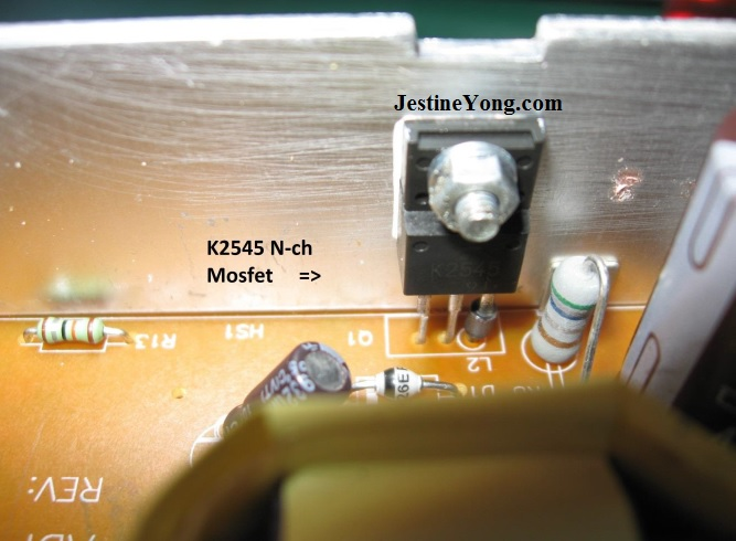 k2545 power fet