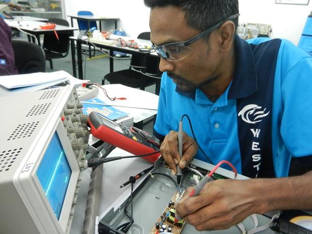 kursus elektronik membaiki