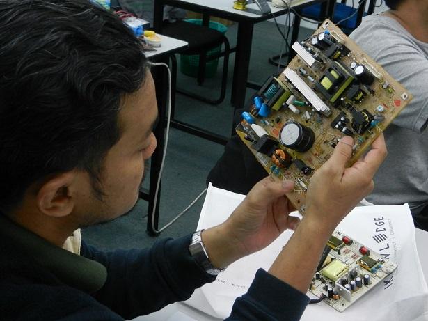 lcd tv power board