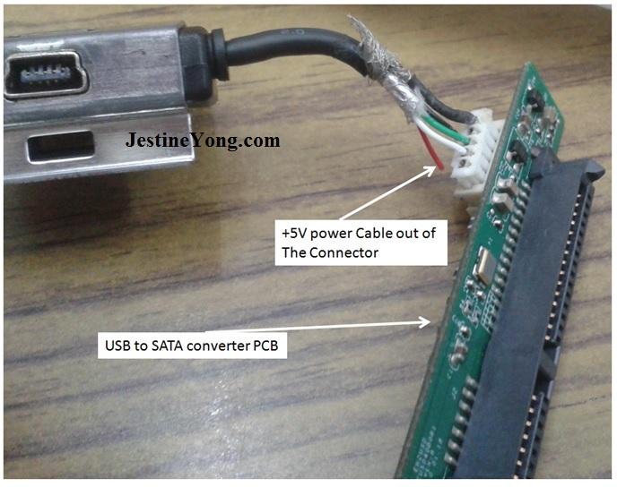 repair hard disk cable