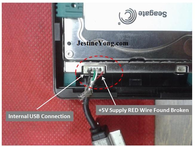 seagate connector fix