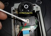 how to clean dvd player lens head
