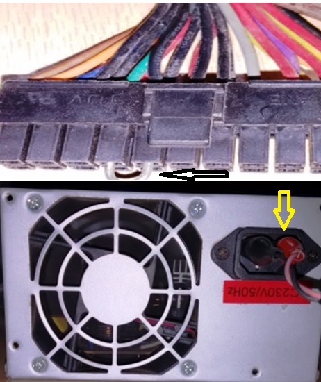 how to repair atx power supply