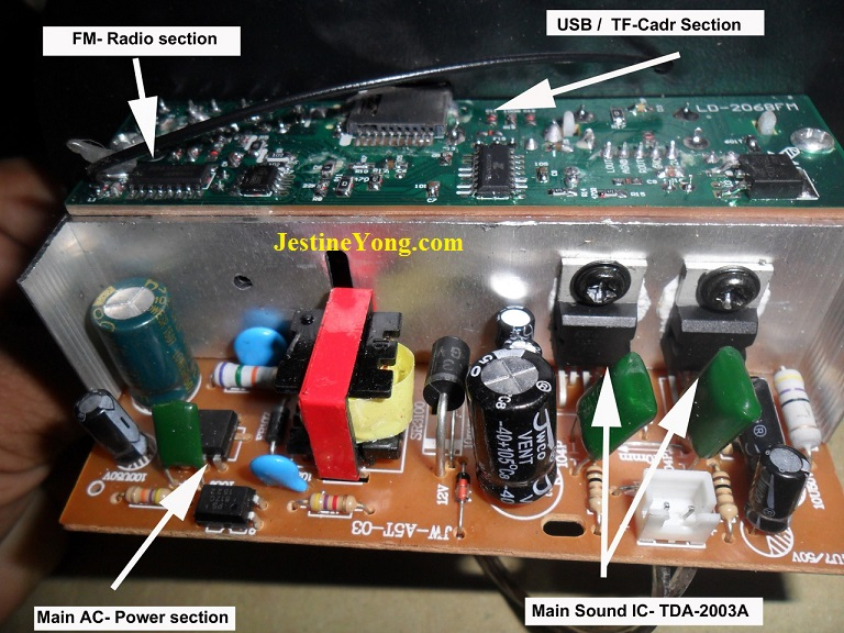 how to repair subwoofer no sound