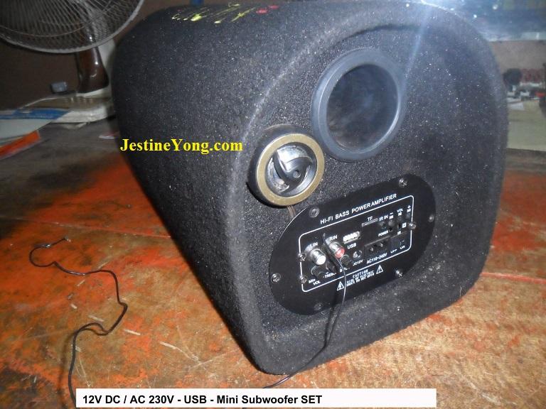 mini subwoofer repair