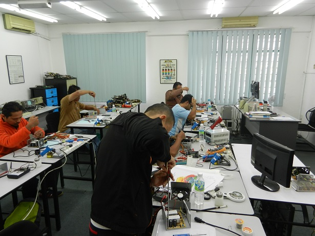 power supply repair course