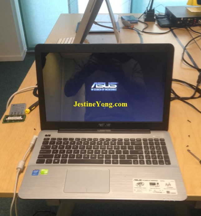 repair asus laptop