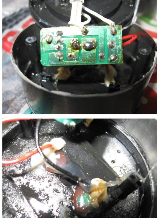 fixing led solar light